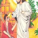 Auto-Portrait accompagné de Jésus, Terminé :) !!