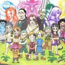 Enfin !! j'ai eu un Article aux Editions Kana, et J'ai crée ce Fan-art du Manga One Piece pour eux et mon Article en Ligne !!