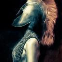 Petit dessin d'un gladiateur féminin, histoire de changer un peu ;)