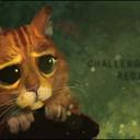 """Dessin digital réalisé dans le cadre du 2nd Challenge Kowok ayant pour thème """"Regard"""". <br />Voici donc le plus mignon des regards, à savoir le Chat Potté !<br />http://www.facebook.fr/fifart/"""