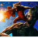 Groot & Rocket - Fif'Art<br />http://www.facebook.com/fifart/