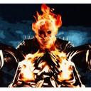 Ghost Rider - Fif'Art<br />http://www.facebook.com/fifart/