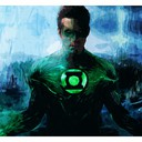 Green Lantern - Fif'Art<br />http://www.facebook.com/fifart/