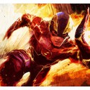 The Flash - Fif'Art<br />http://www.facebook.com/fifart/