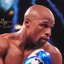 "Floyd ""Money"" Mayweather ! Le champion invaincu ;)<br />En voir plus sur : www.facebook.fr/fifart/"