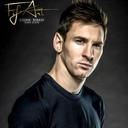 Portrait digital de Lionel Messi, quadruple ballon d'or !<br />En voir plus sur : http://www.facebook.com/fifart/