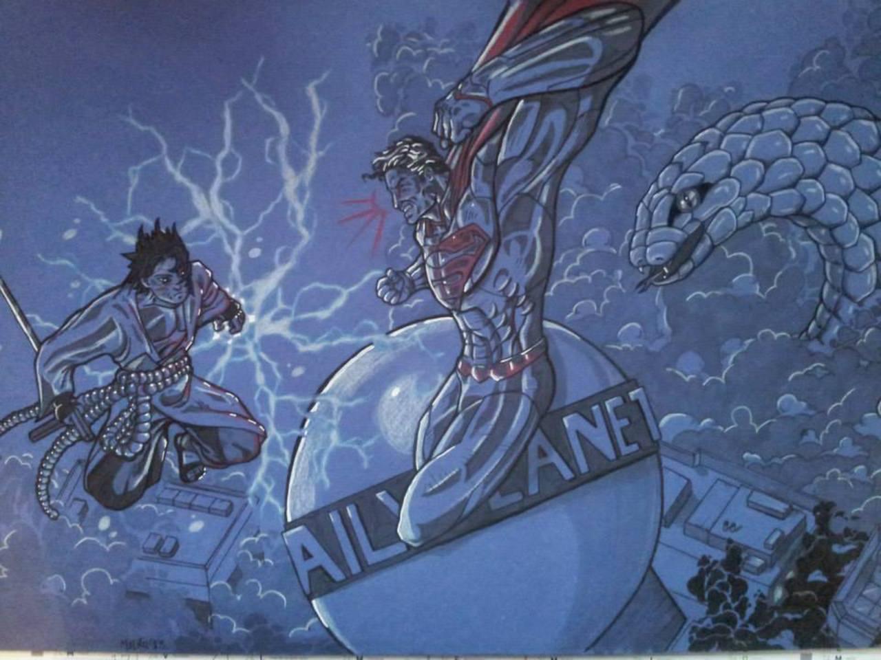 Sasuke versus Superman