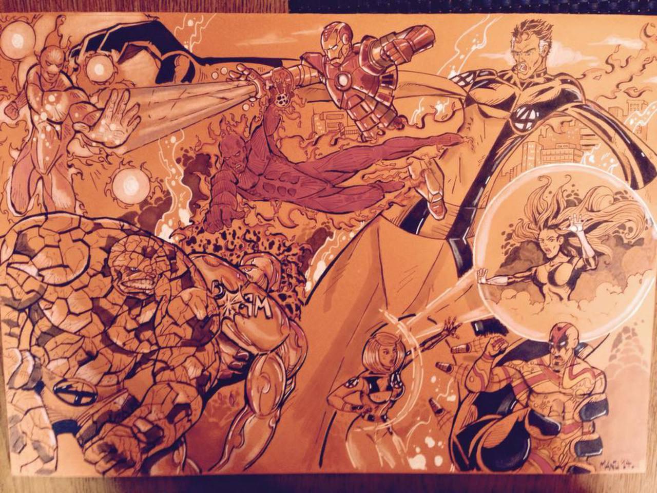 Fantastic Four versus U-Foes