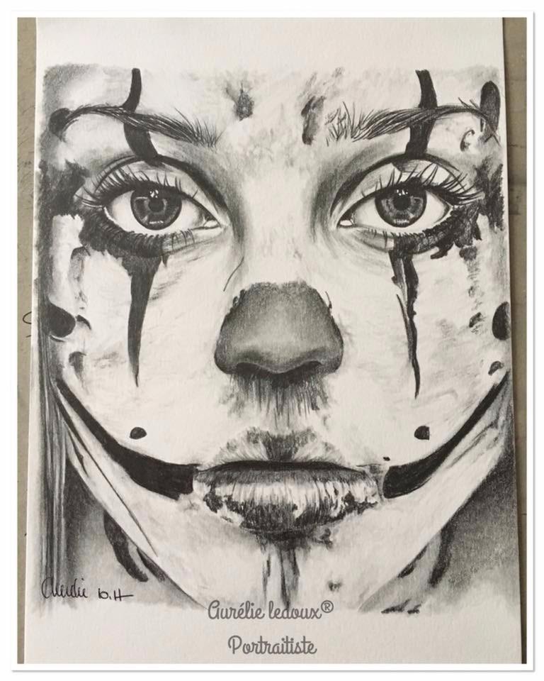 clown de sang