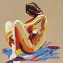 tableau-femme-assise-nu-hauton