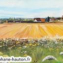 acrylique-paysages-langey-paysage-de-france-hauton