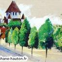 dessin-architecture-acrylique-paysages-provins-tours-acrylique-hauton