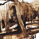 dessin-paysage-lavis-au-bord-de-loire-hauton