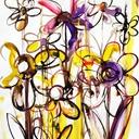 calligraphie-japonaise-fleurs-aquarelle-hauton