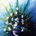acrylique-tableau-bouquet-bleu-hauton