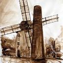 tableau-aquarelle-moulin-de-jossigny-hauton