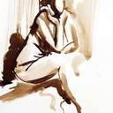 nue-dessin-femme-dans-l'attente-nu-hauton