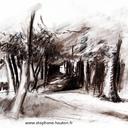 aquarelles-paysages-foret-bois-fusian-pierre-noire-hauton