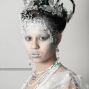 IceQueen<br />Model : Marie Aka<br />Photo : Mathias Chauvy<br />Hair : Symbiose Coiffeurs Createurs<br />Bijoux : KenyStyle