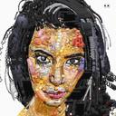 Des portraits réalisés avec des  emojis