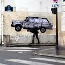 Les dernières créations street art de Levalet