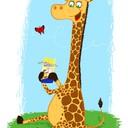 giraffe impression