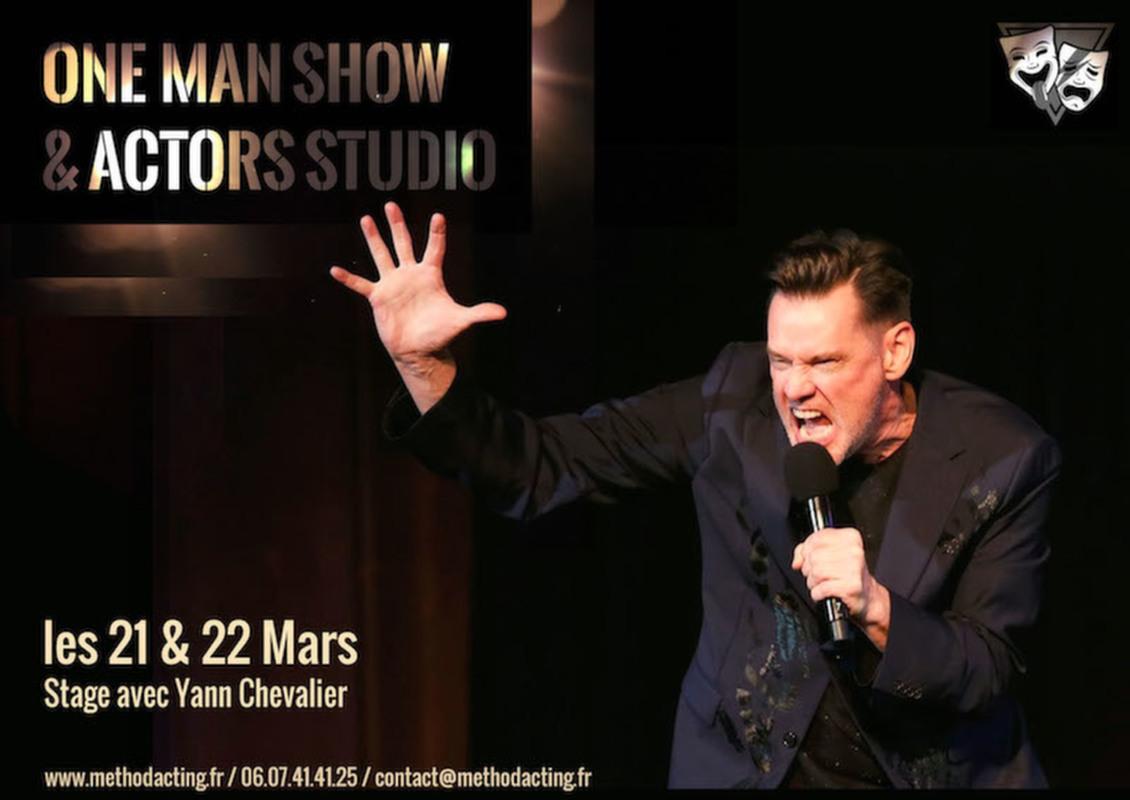 Stage One Man Show et Actors Studio<br />Method Acting Center<br /><br />WEEKEND du 21 & 22 Mars 2020<br />de 13h à 19h,<br />au 93 Avenue d'Italie, Paris 13e<br />avec Yann CHEVALIER.<br /><br />Aux USA, de nombreux «stand-up comedians» sont formés aux méthodes de Stanislavski et de l'Actors Studio. Et pour cause : le travail sur l'imaginaire doublé de l'expertise du travail sensoriel permet aux performers de one man show de créer de véritables environnements dynamiques, ludiques, crédibles et délirants !<br /><br />Bienvenue dans notre approche, unique en France, de la Méthode au service des one man shows.<br /><br />OBJECTIFS du Stage ONE MAN SHOW & ACTORS STUDIO<br />- Apprendre à utiliser tout l'éventail sensoriel de la Méthode au service du one-man-show<br />- Découvrir comment sculpter le silence sur scène, travailler le rythme spécifique à l'humour<br />- Créer une relation réelle et dynamique avec le public, réussir à le personnifier<br />- Créer des univers à la fois invisibles et extrêmement vivants<br />- Comprendre et faire des choix de mise en scène pour illustrer ses propos<br />- Improviser une scène sur thème ou un texte imposé<br />- Composer son (et ses) personnage(s) de One Man Show<br /><br />INFOS PRATIQUES<br />- De 8 à 16 personnes<br />- 160€ pour un stage weekend<br />- Forfaits à partir de 3/6/9 stages weekend : 10% de remise / 15% de remise / 20% de remise, découvrez notre planning de stages 2019/2020<br />Method Acting Center vous recommande le forfait 3 stages : One Man Show + Comédie (sur 2 weekend) pour 432€ au lieu de 480€, paiement en plusieurs fois acceptés.<br />- Formations éligibles à l'AFDAS, aux OPCA, et Pôle emploi<br />- Un acompte de 30% vous sera demandé au moment de la réservation<br /><br />INSCRIPTIONS EN LIGNE<br />https://www.methodacting.fr/stage-one-man-show-actors-studio/<br />contact@methodacting.fr<br />06 07 41 41 25<br /><br />Image : The New Yorker