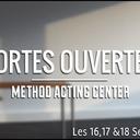 METHOD ACTING CENTER - PORTES OUVERTES SEPT 2017<br /><br />Vous recherchez une formation pour 2017/2018 ?<br /><br />Method Acting Center vous ouvre les portes de ses nouveaux locaux<br />et vous proposer 3 journées d'essai intensives de l'ensemble de ses ateliers :<br /><br />le weekend du 16 & 17 Septembre + le lundi 18 Septembre,<br />de 11h à 21h,<br />au 93 avenue d'Italie, Paris 13e<br /><br />Au PROGRAMME :<br />ACTORS STUDIO /  ACTING in ENGLISH / ACTING on CAMERA / IMPROVISATION / ATELIER DANSE / VOIX, CHANT & INTERPRÉTATION / PRÉPA aux CASTINGS, CARRIÈRE & DÉVELOPPEMENT PERSONNEL / SCÉNARIO/RÉALISATION & DIRECTION D'ACTEURS<br /><br />Sur place, vous pourrez échanger avec les coaches, les acteurs de la dernière promo et l'équipe encadrante de Method Acting Center. L'accès à ces cours d'essais est réservé en priorité aux acteurs, réalisateurs ou scénaristes recherchant une formation à l'année.<br /><br />Il est possible de réserver 1 ou plusieurs modules*.<br />L'accès à ces cours est libre et gratuit, seule compte votre motivation !<br />*Pour les cours de niveau avancé (Prépa aux castings ou Acting on Camera), une expérience de 2 ans dans le cinéma et/ou théâtre est indispensable.<br /><br />Infos complémentaires et Réservations :<br />http://www.methodacting.fr/portes-ouvertes/<br /><br />contact@methodacting.fr<br />06 07 41 41 25