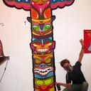 """Color your Totem """"Aérosols et Posca"""""""