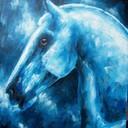 Série bleue - Chevaux