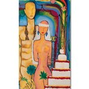 Adam&Eve's wedding 50cmx100cm