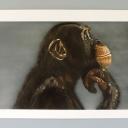 chimpanzé-reveur-par-karine-à-l'aérographe