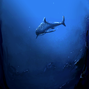 Majestic Shark<br />Photoshop, 45 minutes