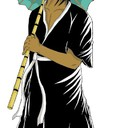 Petit essai représentant Pegase ( Ma-Mian), gardien des Enfers dans la légende chinoise.