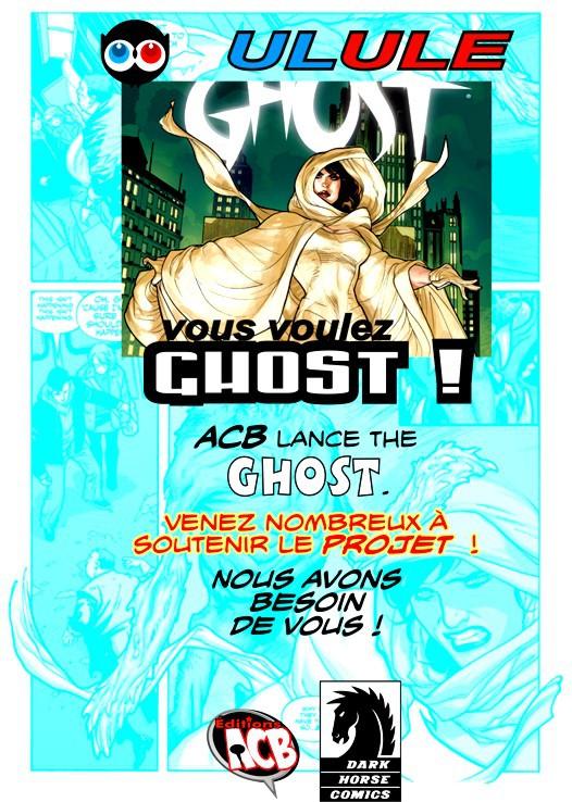 Le projet GHOST est toujours là elle vous attend !<br />Venez faire un tour sur la Page ulule !<br />Si vous aimez partager l'annonce.<br />http://fr.ulule.com/ghost-album/
