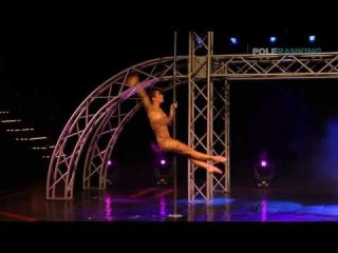 Amandine Philippe - Pole Art Cyprus 2013