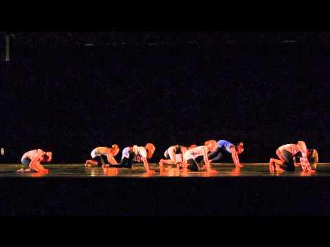 """concours Danse ffd 2014 """"les allers à"""" Juliette Vinay"""