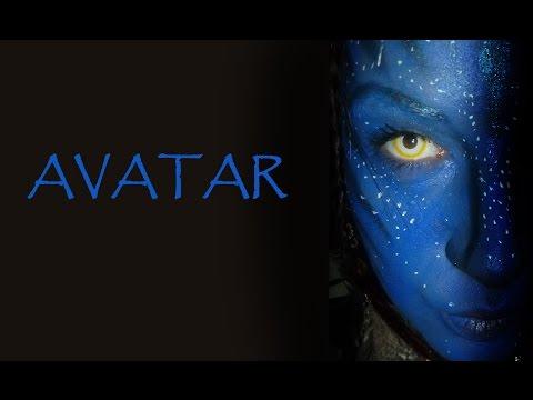 Face painting Lentilles Fantaisie Avatar