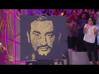 TPMP de Cyril Hanouna /Kids United /Boris Normand Speed Glitter Painting,peintre colle et paillettes