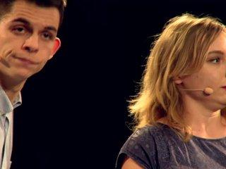 1er Show Putain de Talents au New Morning - Clotilde et Jason