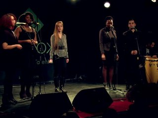 1er Show Putain de Talents au New Morning - Ahmet Gülbay, Céliana B. et Heavenly Gospel Choir
