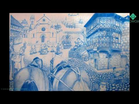 Dessins de Justine Kuntz sur une musique d'Acqtäz