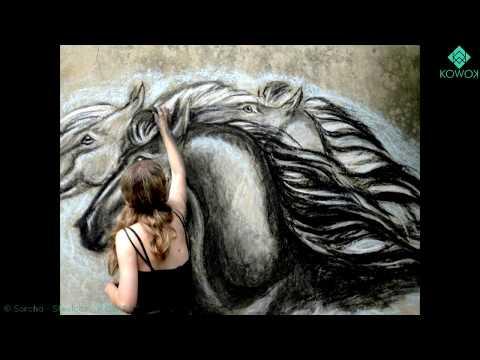 Les chevaux de Sorcha - Dessins, peintures