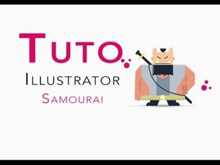 Adobe Illustrator - Flat design SAMOURAI