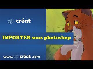 Comment IMPORTER une image sous photoshop