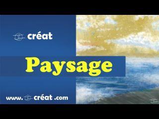 [ PEINTURE NUMERIQUE ] - PAYSAGE ( test brush photoshop )
