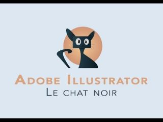DESSINER UN CHAT - TUTO Illustrator - Flat design