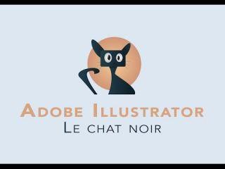 DESSINER UN CHAT - TUTO Illustrator - Flat design