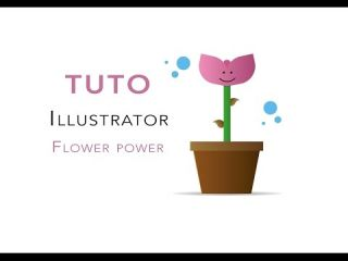 Tuto Illustrator - Flower Power
