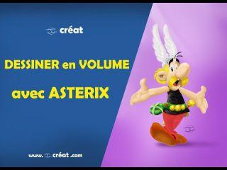 DESSINER en VOLUME avec ASTERIX ( photoshop )